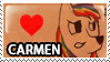 Carmen Stamp by Howie62