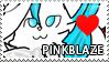 Pinkblaze Stamp by Howie62