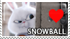 Snowball Stamp by Howie62