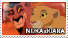 Nuka x Kiara Stamp by Howie62