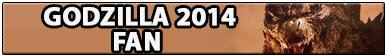 Godzilla 2014 Fan