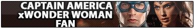 Captain America x Wonder Woman Fan