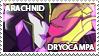 Arachnid x Dryocampa Stamp by Howie62