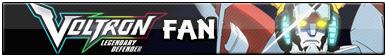 Voltron: Legendary Defender Fan
