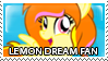 Lemon Dream Fan Stamp by Howie62