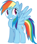 Rainbow - Grin of awesome