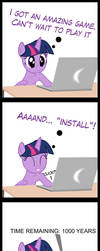 TwiVPC #1 - Twilight's New Game by MrKat7214