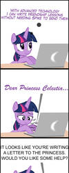 TwiVPC #2 -Twilight's New Form of Writing Letters by MrKat7214