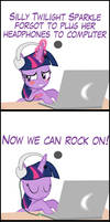 TwiVPC #4 - Twilight's New Headphones Part 2 by MrKat7214