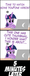 TwiVPC #6 - Twilight Discovers the Internet by MrKat7214