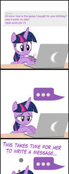 TwiVPC #8 - Twilight's Message to Mom by MrKat7214