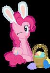 Easter Ponies - Pinkie Pie by MrKat7214