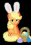 Easter Ponies - Applejack by MrKat7214