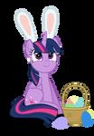 Easter Ponies - Twilight Sparkle by MrKat7214
