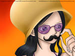 *Moustache* Robin on Dressrosa