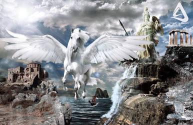 Pegasus Greek Mythology