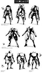 CHAR SKETCHES - 01