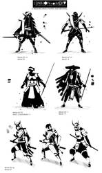 CHAR SKETCHES - 03