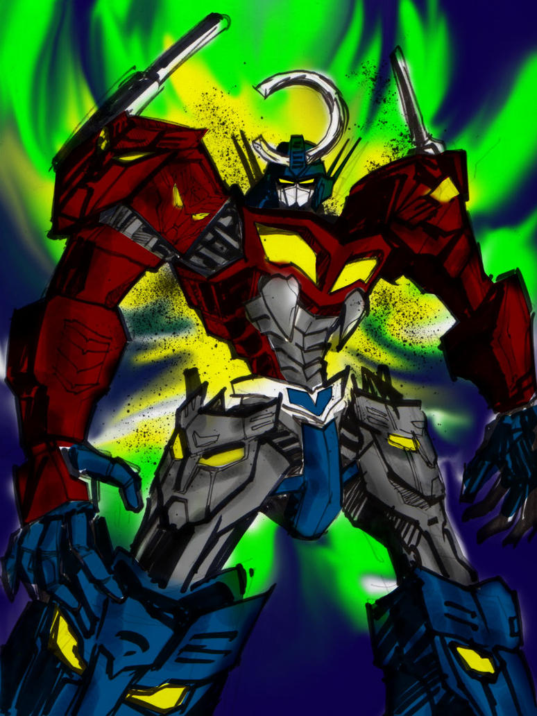 Tengen Toppa Optimus Prime by polidread