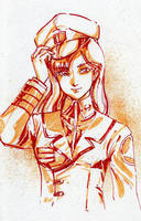 Major Misa Ichijo by polidread