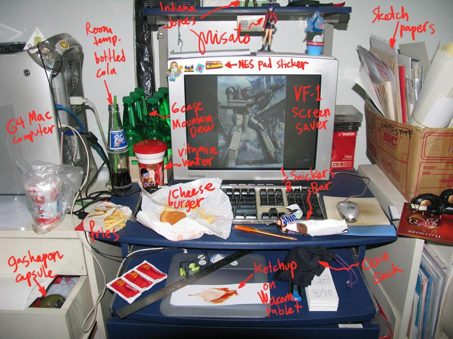 Snackadactyl's Workstation