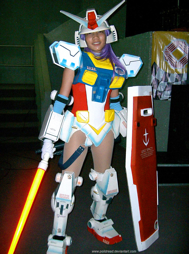 Mobile Suit Gundam Girl 2 by polidread