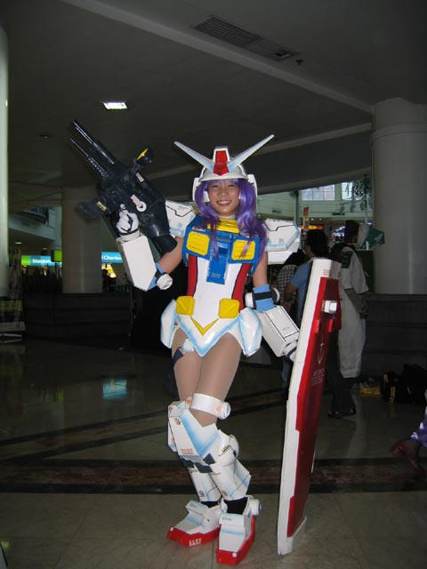 RX78-2 Mobile Suit Gundam Girl by polidread