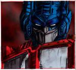 Optimus Prime, colored
