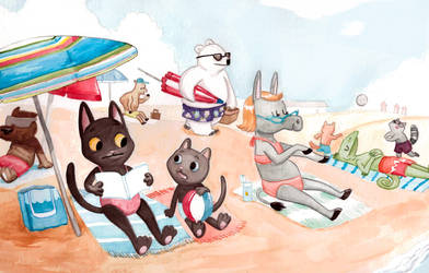 beach holiday by fossick