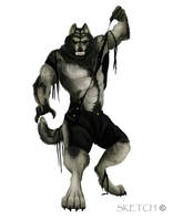 Werewolf by Nightenscythe