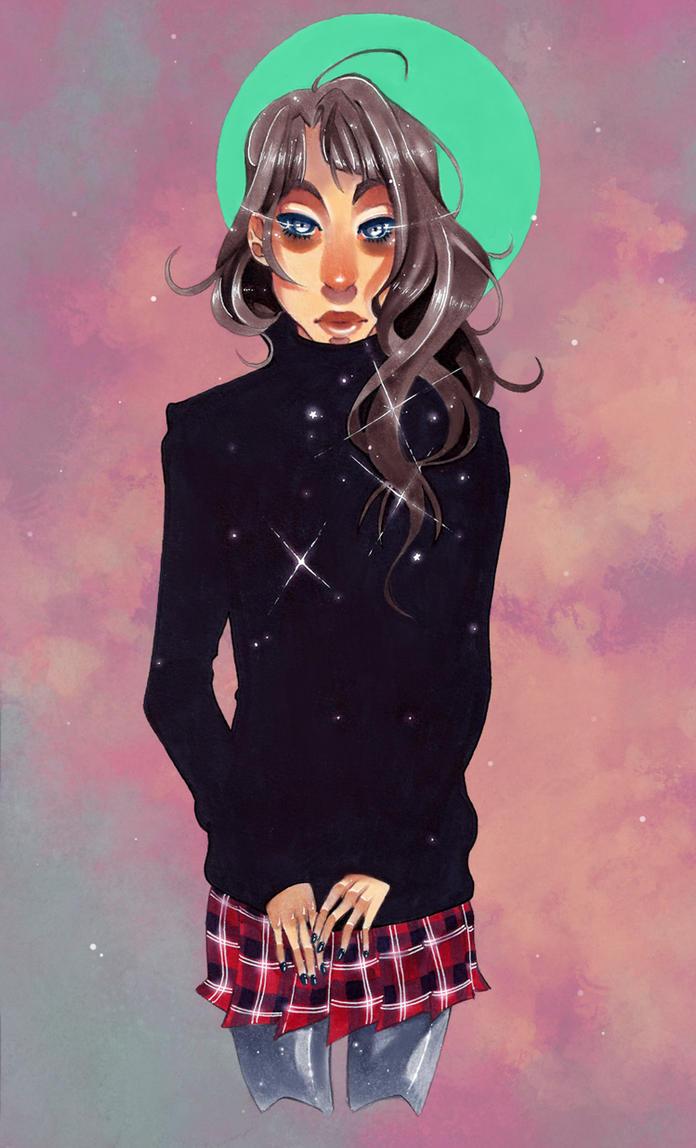 Sweater Girl Again by JollyGolightly