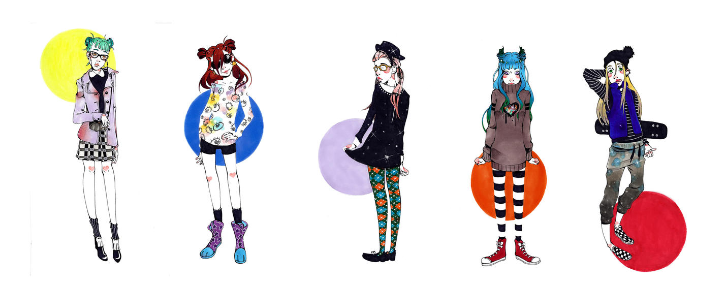 Fashion Girls by JollyGolightly