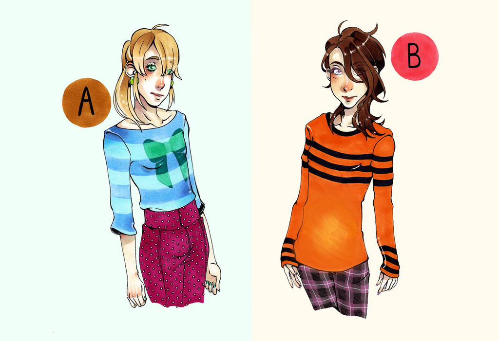 A or B deus by JollyGolightly