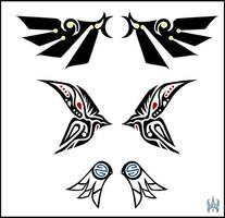 Tribal Wings by MechanicalE