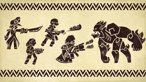 Warhammer 40k - Rogue Trader - Ork Pottery