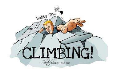 Belay On - Climbing
