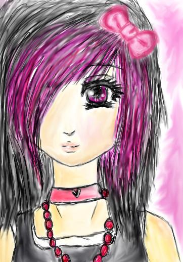 http://fc02.deviantart.com/fs23/f/2008/019/2/a/Scene_Girl_Headshot_by_Rin__chan.jpg