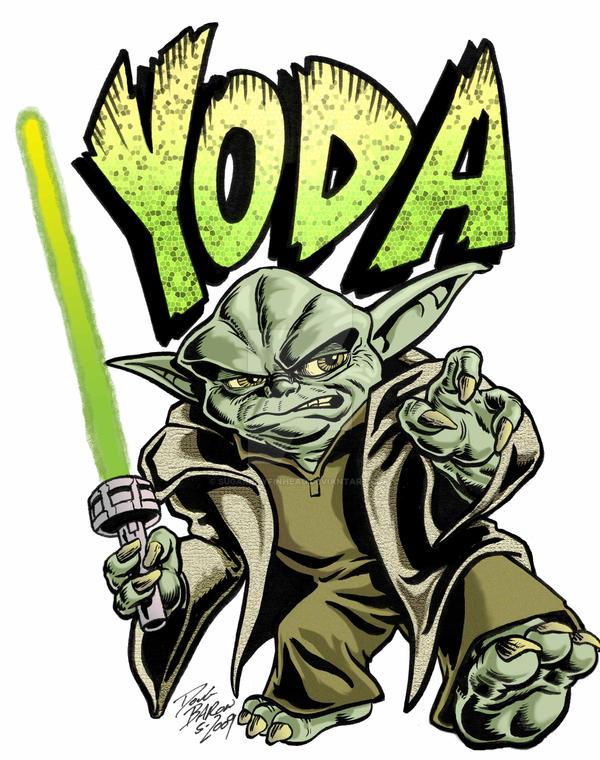 Yoda by sugarrayfinhead