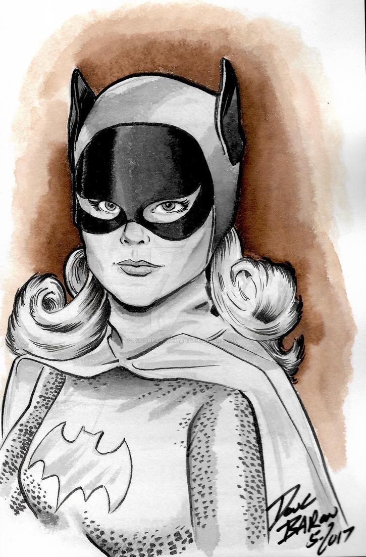 Yvonne Craig / Batgirl by sugarrayfinhead