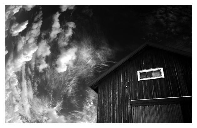 Barn in the sky