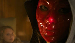 Red Masked Woman