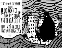 Big Monster by BalamTzibtah