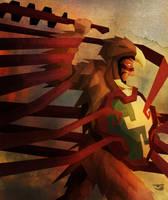 Guerrero Aguila by BalamTzibtah