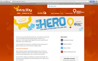 Donation Screenshot for Shelle-chii