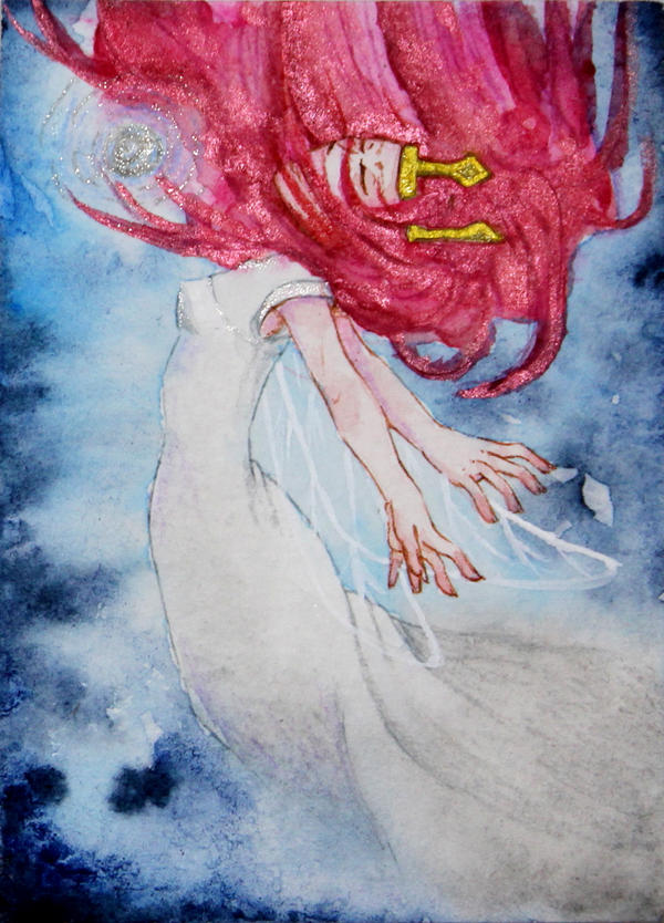 #60 ACEO Child of Light (Adventskalender) by Miyavj