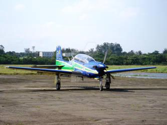 Preparing for takeoff by Roddy1990