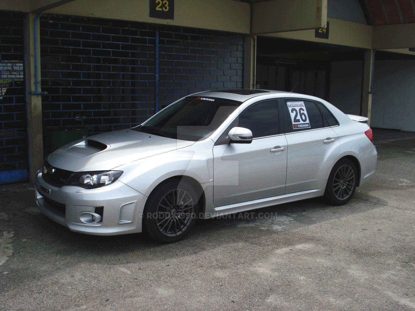 2011 subaru impreza wrx 2 by roddy1990