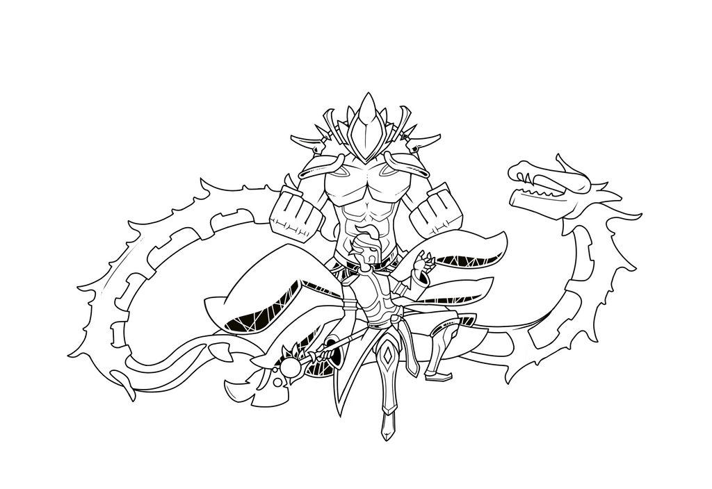 how to draw terraria skeletron