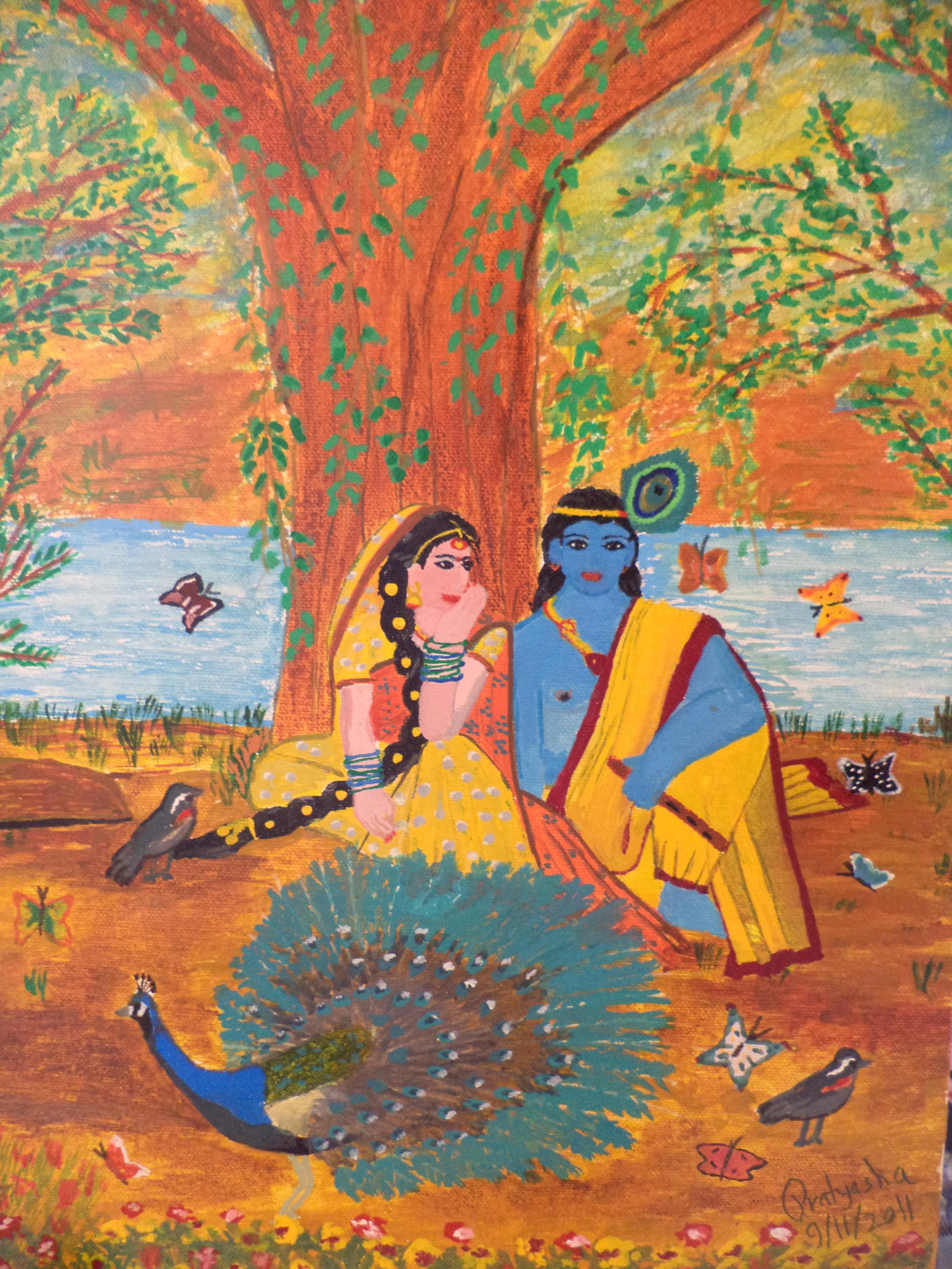 Radha Krishna by Pratyasha on DeviantArt