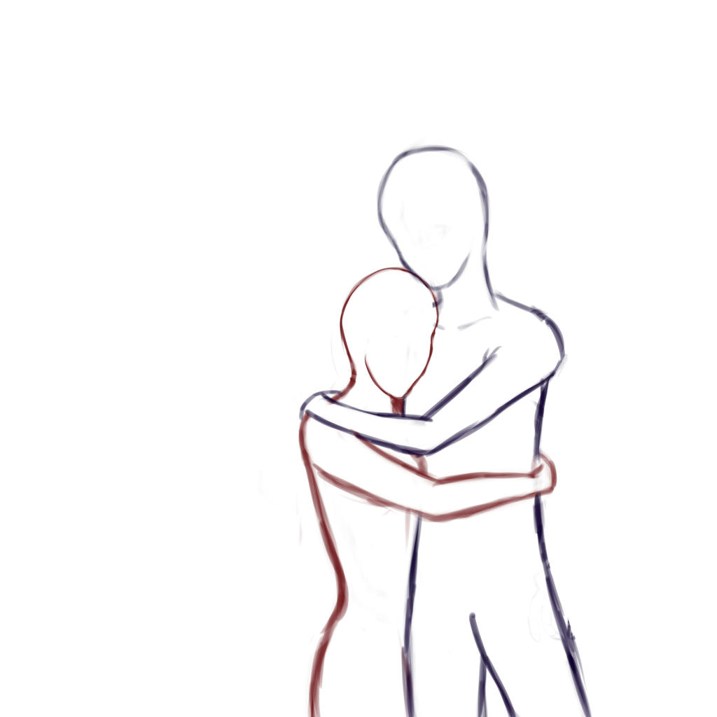 i Cant Draw People Hugging i